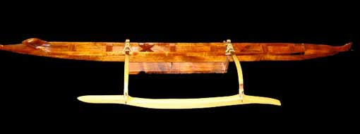 Calisto Palos: Hawaiian Koa Canoes